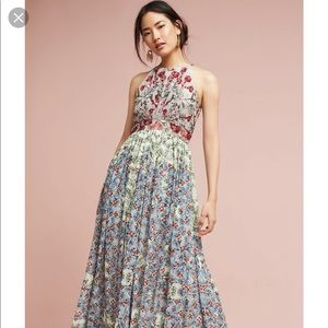 Anthropologie  Bhanuni Jyoti Maxi Dress